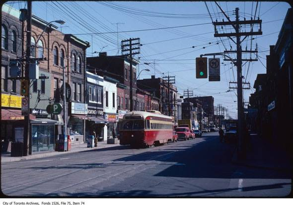 Queen and Broadview 1982