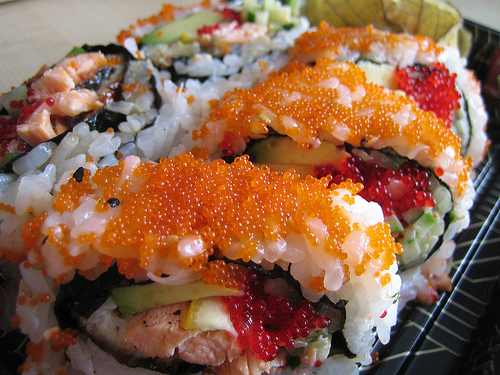 Sushi in Leslieville