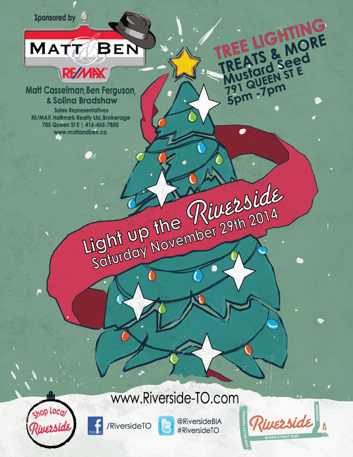 TTC poster Light up the Riverside 2014
