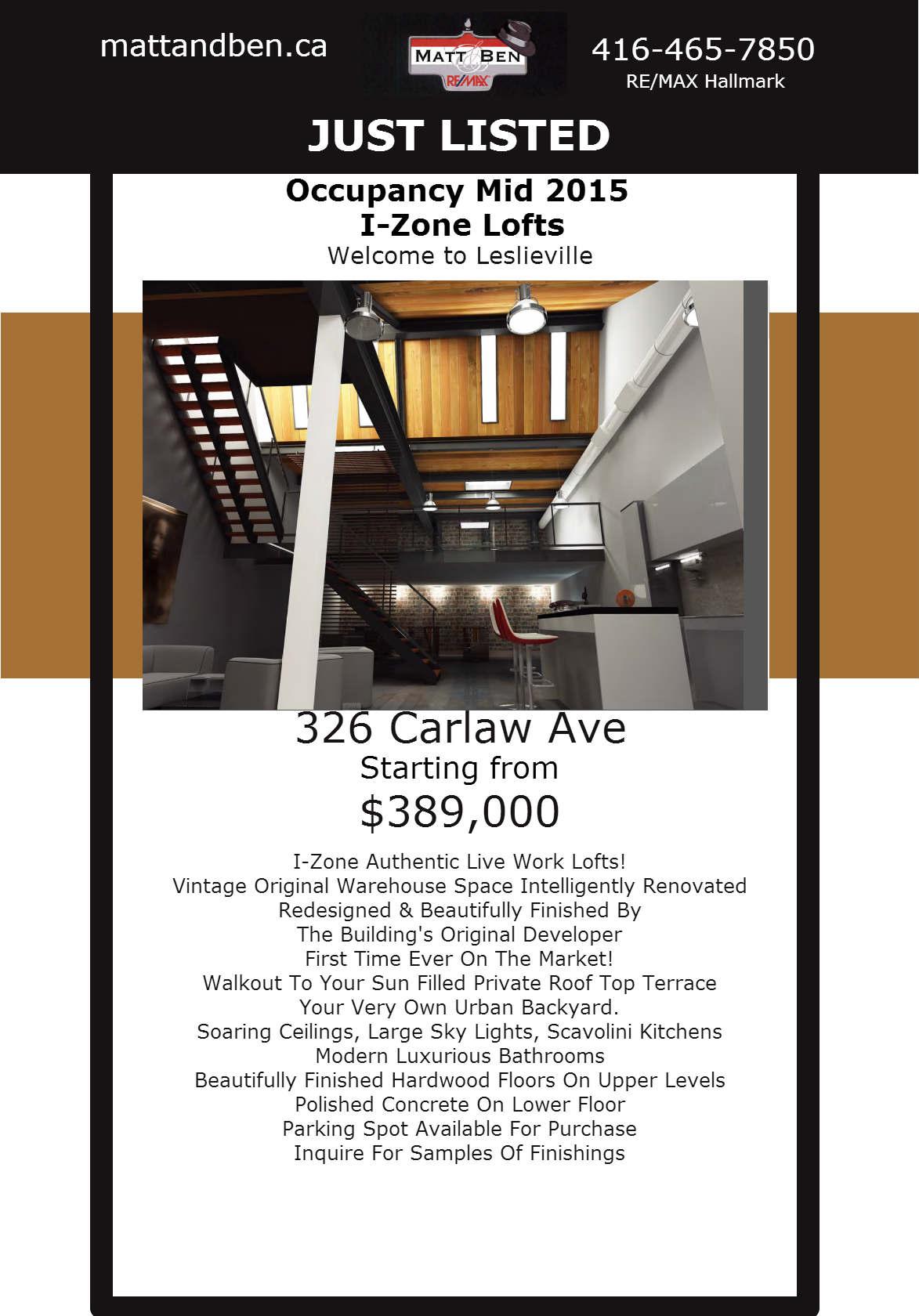 Izone Online Feature Sheet