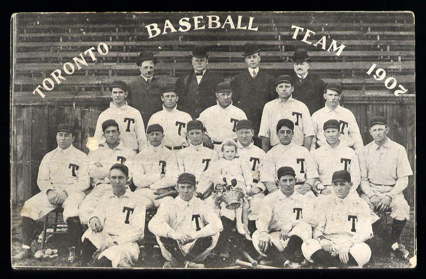 Toronto Baseball Team 1907