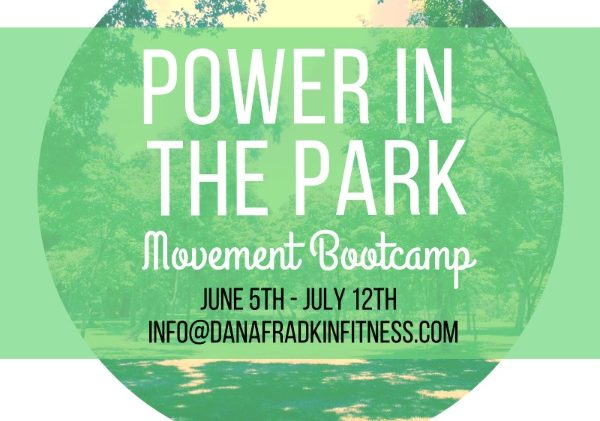 POWER IN THE PARK BOOTCAMP!