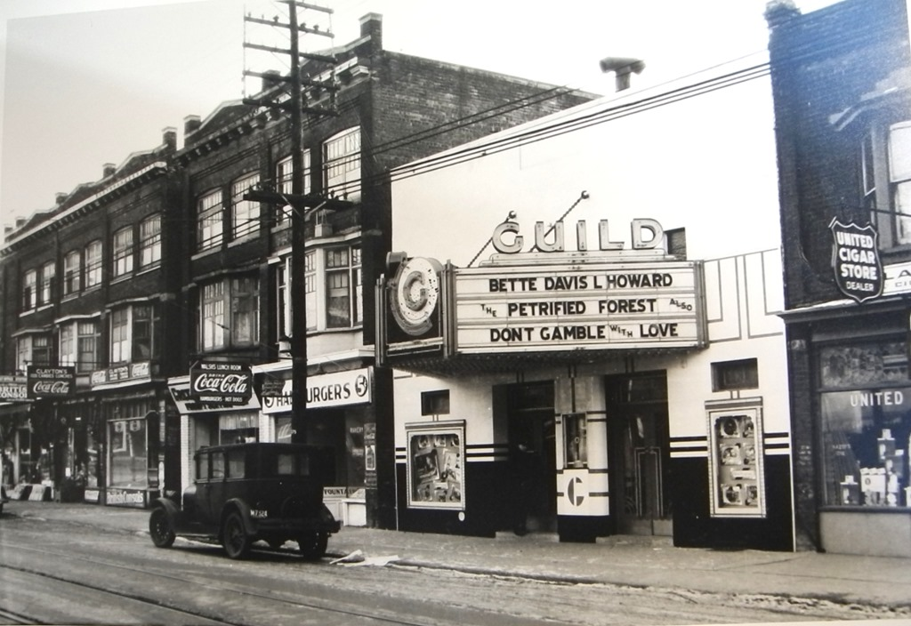 Then and Now: Gerrard Street E West of Greenwood