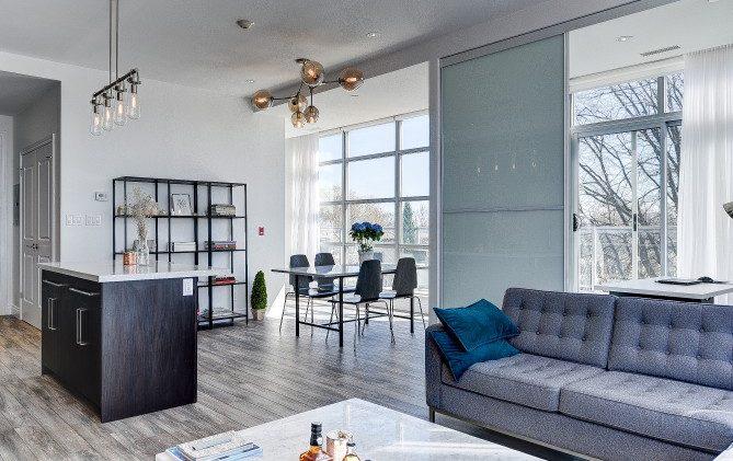 Leslieville Real Estate: 1003 Queen Street East Suite 402