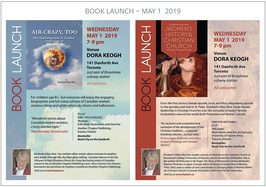 Elizabeth Gillan Muir Book Launch