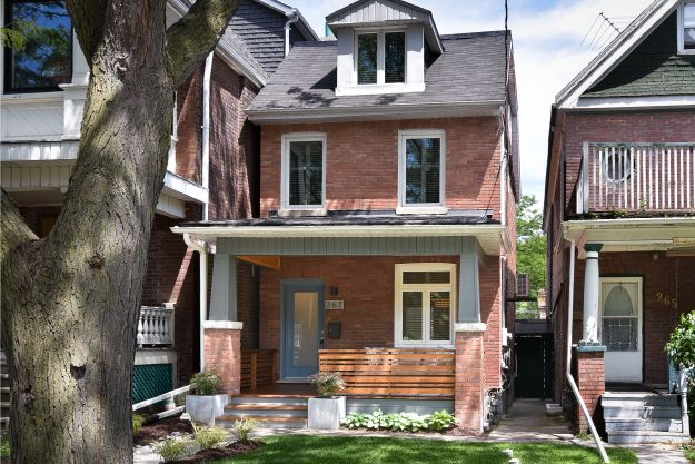 Leslieville Real Estate: 267 Leslie Street